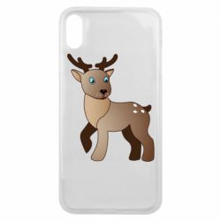 Чехол для iPhone Xs Max Cartoon deer