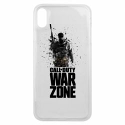 Чехол для iPhone Xs Max COD Warzone Splash