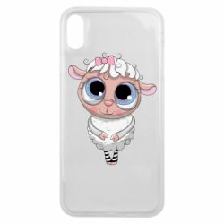 Чехол для iPhone Xs Max Cute lamb with big eyes