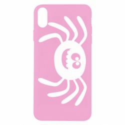 Чехол для iPhone Xs Max Cute spider with mustache