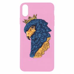 Чехол для iPhone Xs Max Eagle with a crown on its head