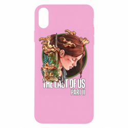Чехол для iPhone Xs Max Ellie The Last Of Us