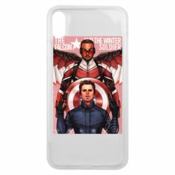 Чохол для iPhone Xs Max Falcon and the Winter Soldier Art