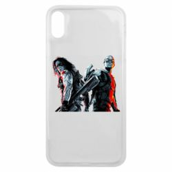 Чохол для iPhone Xs Max Falcon and Winter Soldier