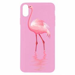 Чохол для iPhone Xs Max Фламинго