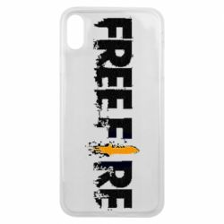 Чехол для iPhone Xs Max Free Fire spray