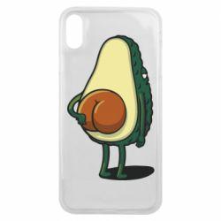 Чохол для iPhone Xs Max Funny avocado