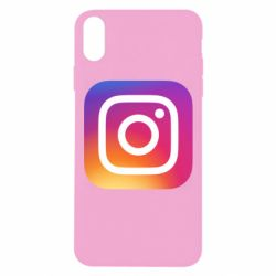 Чохол для iPhone Xs Max Instagram Logo Gradient