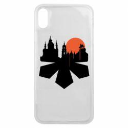 Чохол для iPhone Xs Max Kiev city of chestnuts