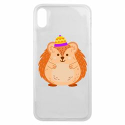 Чохол для iPhone Xs Max Little hedgehog in a hat