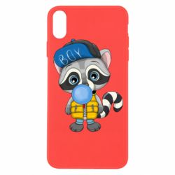 Чехол для iPhone Xs Max Little raccoon