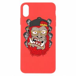 Чехол для iPhone Xs Max Monkey Style