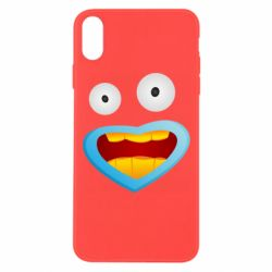 Чохол для iPhone Xs Max Mouth And Eyes