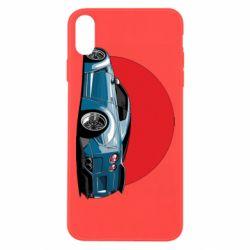 Чехол для iPhone Xs Max Nissan GR-R Japan