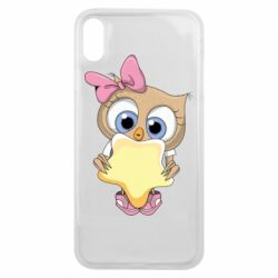 Чехол для iPhone Xs Max Owl with a star