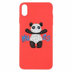 Чехол для iPhone Xs Max Panda hugs