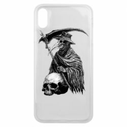 Чехол для iPhone Xs Max Plague Doctor graphic arts