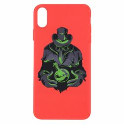 Чехол для iPhone Xs Max Plague Doctor