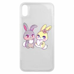 Чохол для iPhone Xs Max Rabbits In Love
