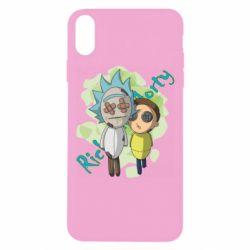 Чохол для iPhone Xs Max Rick and Morty voodoo doll