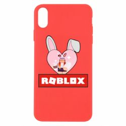 Чехол для iPhone Xs Max Roblox Bunny Girl Skin