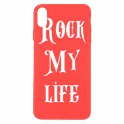 Чехол для iPhone Xs Max Rock my life