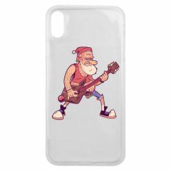 Чохол для iPhone Xs Max Rock'n'roll Santa