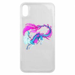 Чохол для iPhone Xs Max Sisu Water Dragon