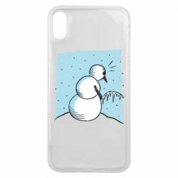 Чохол для iPhone Xs Max Snowman. It's Cold!