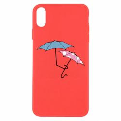 Чехол для iPhone Xs Max Umbrella love Color