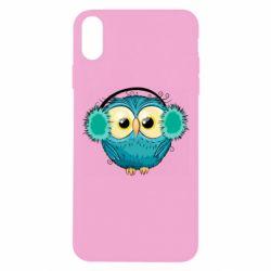 Чехол для iPhone Xs Max Winter owl