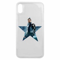 Чохол для iPhone Xs Max Winter Soldier Star