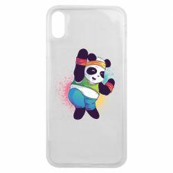 Чохол для iPhone Xs Max Zumba Panda