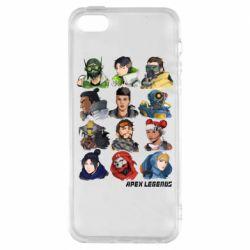 Чохол для iphone 5/5S/SE Apex legends heroes
