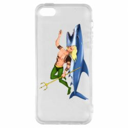 Чехол для iPhone5/5S/SE Aquaman with a shark