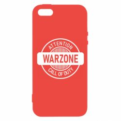 Чехол для iPhone5/5S/SE Attention Warzone