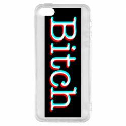 Чехол для iPhone5/5S/SE Bitch glitch