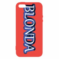 Чехол для iPhone5/5S/SE BLONDA