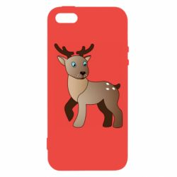 Чехол для iPhone5/5S/SE Cartoon deer