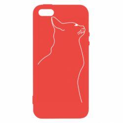 Чохол для iPhone 5 Cat line