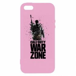 Чехол для iPhone5/5S/SE COD Warzone Splash