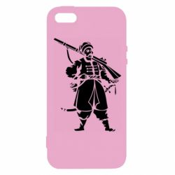 Чехол для iPhone5/5S/SE Cossack with a gun