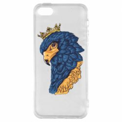 Чехол для iPhone5/5S/SE Eagle with a crown on its head