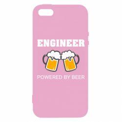 Чохол для iPhone 5 Engineer Powered By Beer