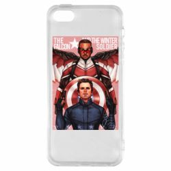 Чохол для iphone 5/5S/SE Falcon and the Winter Soldier Art