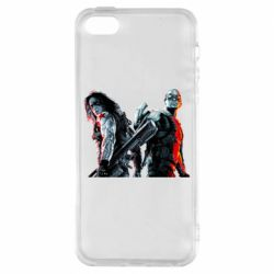Чохол для iphone 5/5S/SE Falcon and Winter Soldier
