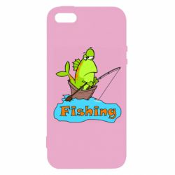 Чехол для iPhone5/5S/SE Fish Fishing