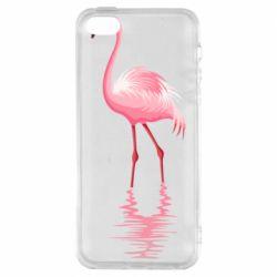 Чохол для iPhone 5 Фламинго