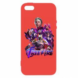 Чехол для iPhone5/5S/SE Garena free avengers