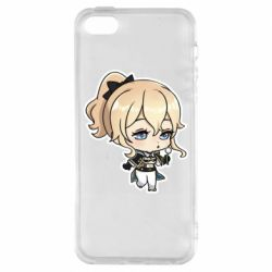 Чохол для iphone 5/5S/SE Genshin Impact chibi Jean